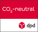 Label CO2-neutraler Versand mit DPD